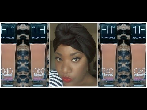 ★Maybelline fit me★ 340 Cappuccino★New Shades★Review/Demo..