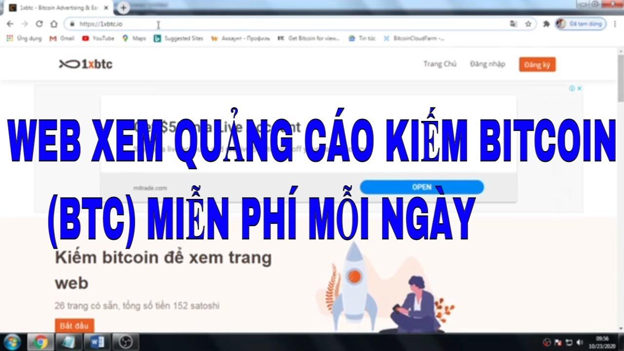 WEB XEM QUẢNG CÁO KIẾM BTC MIỄN PHÍ MỖI NGÀY