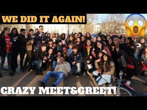 MY CRAZY HYDE PARK MEET AND GREET!!!