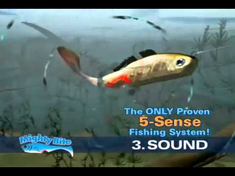 mighty bite fishing lures tv commercial - youtube, Reel Combo