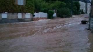 Inondations Saône-et-Loire jambles