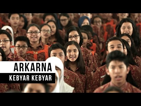 ARKARNA - Kebyar Kebyar (Official Music Video)