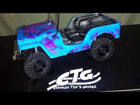 crawler-teds-garage---in-the-shop-with-kam2040---sawback-is-painted-!