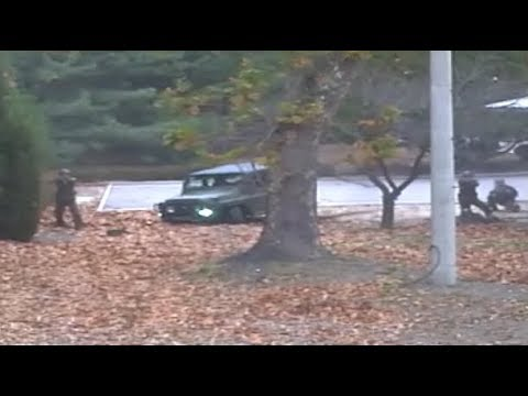 유엔사, '북한군 JSA 귀순' 당시 CCTV 공개 - 생중계