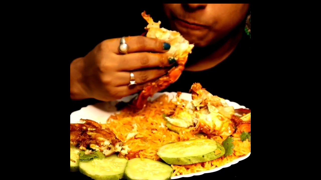 Crab Biryani Eating #Shorts by Foodie Dipa