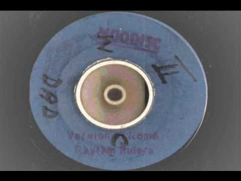 LLOYD JONES -  Rome extended with version Of Rome  - moodisc records promo  reggae
