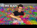 I Made A Huge Artwork with 100,000 Beads - Art Challenge