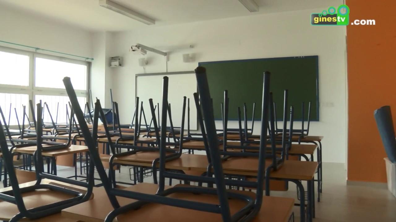 Más de 600 000 euros de inversión en los colegios públicos de Gines para el curso 2018 2019