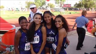 Elite Sports Pages Millennium girls 4 X 100 state finals 2017