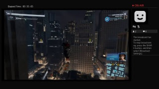 Spider man PS4 livestream