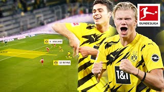 What Makes Erling Haaland and Gio Reyna so Good? | Tactical Analysis
