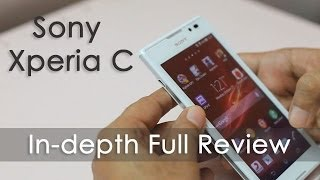 Sony Xperia C Mid Range Android Phone In-depth Review