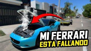 MI FERRARI ESTA FALLANDO MUY EXTRAÑO.. | ManuelRivera11