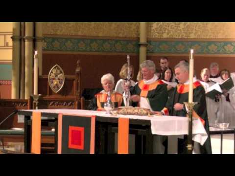 Bishop Griswold Celebrates the Liturgy of the Eucharist at St. James Cathedral Chicago