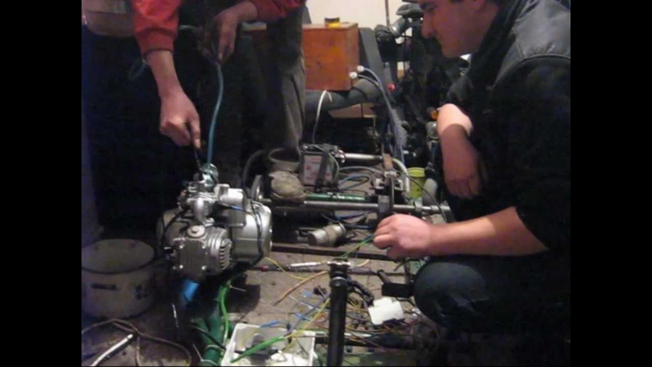 Gokart Atv 110 Automat Budowa Film Quadriplegic Driver