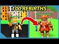 What Happens at 100 Rebirths in Roblox RPG Simulator