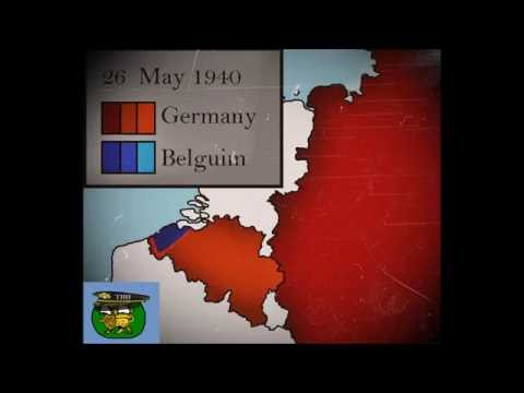 German Invasion of Belgium in World War 2(1940): Every Day