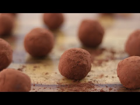 Classic Chocolate Truffles Recipe | How to Make Chocolate Truffles