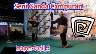Download Video Cewek vs Cowok PSHT Seni Ganda Campuran Pencak Silat MP3 3GP MP4