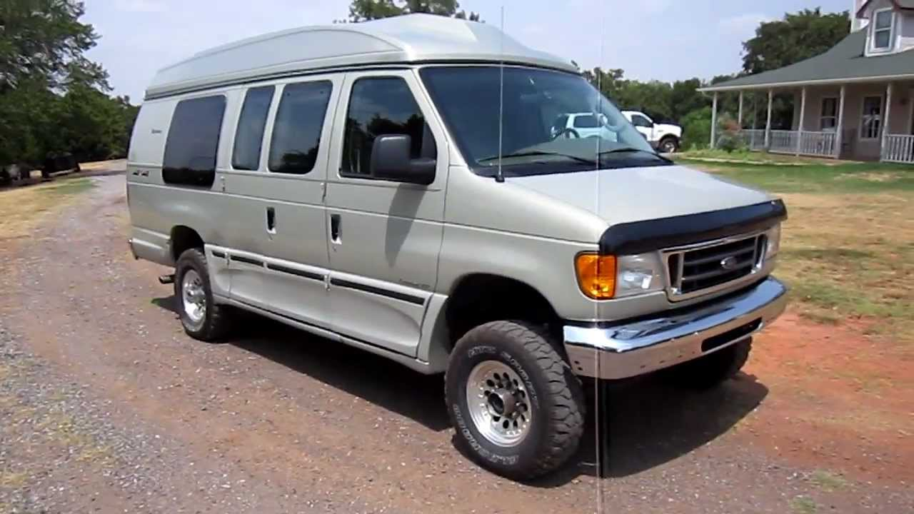 2005 E 350 Explorer 4x4 Conversion Van Youtube