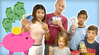 We SPEND each other's Credit Cards & Piggy Banks! Fall shopping haul GONE WRONG!!
