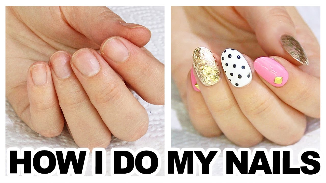 Beautiful How To Do Things With Fake Nails Motif - Nail Art Design ...
