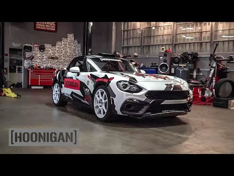 [HOONIGAN] DT 142: Inside the Fiat Abarth 124 Rally Car...and a Boat