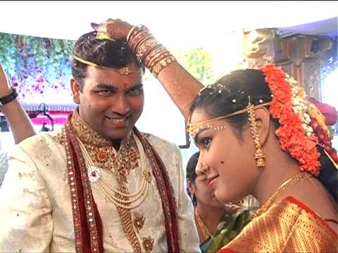 Sravan + Mounika. A traditional telugu wedding  filmed by SAHIL 09866666883