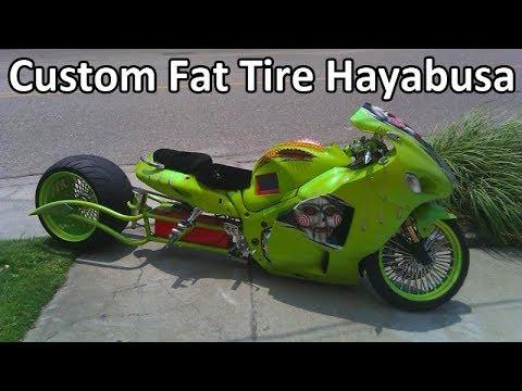 Suzuki Hayabusa Wide Tire Kits