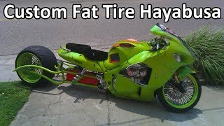 Suzuki Hayabusa Wide Tire Kits