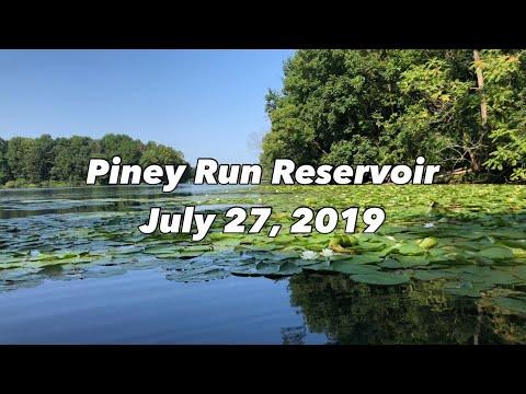 Summertime Bass Fishing Piney Run Reservoir