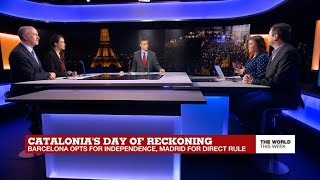 Day of reckoning: Barcelona opts for independence, Madrid for direct rule