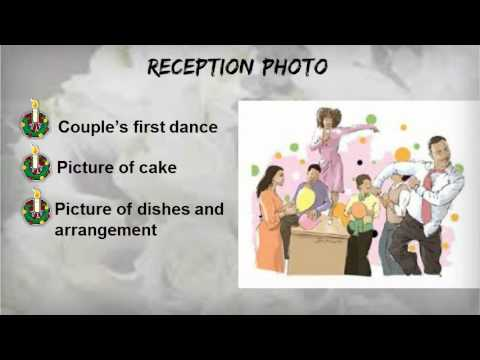 Important Checklist for Rookie Wedding Photographers