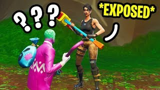I got EXPOSED by a TWITCH Streamer's CHAT in Fortnite Random Duos...