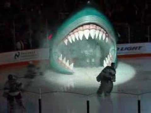 San Jose Sharks Entrance - YouTube