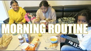 MORNING ROUTINE- BACK TO SCHOOL JOUR DE LA RENTREE 2017
