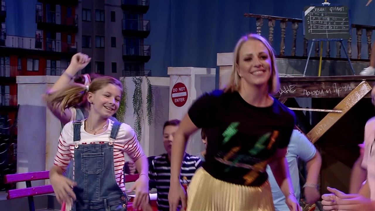 """Тамара Тодевска и ќеркичката Хана се како модни близначки во """"Дајте музика"""""""
