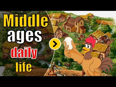Middle Ages Daily Life Style - City Life In The Middle Ages Story For Kids