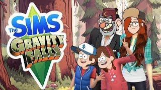 Sims 4 Cartoon CAS - Ep.2 - Gravity Falls!