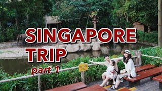 Lần đầu Cam đi nước ngoài | Singapore có tuyệt như quảng cáo | Gia Đình Cam Cam Vlog 96