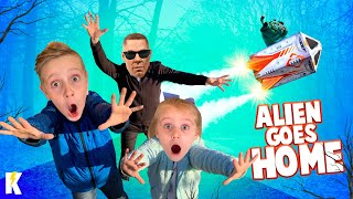 Kids Send the Alien Home + the Man in Black is BACK with Spy Gear! KidCity