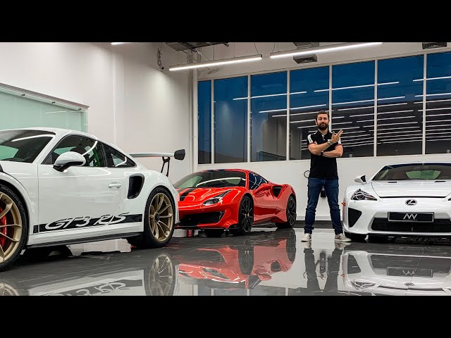 Highest Specd Supercars At NVN Dubai Supercar Party!