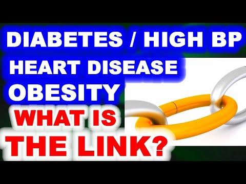 The Link Between Diabetes, High Blood Pressure, Heart Disease, and Obesity