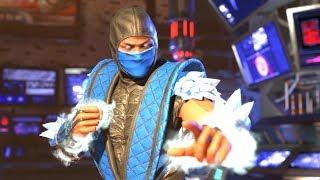 """Injustice 2 - Sub-Zero """"Mythologies"""" Full Epic Gear Set 3/3 (1080p 60FPS)"""