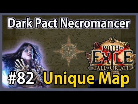 Unique Map: Poorjoy's Asylum - Dark Pact Necromancer #82 - S