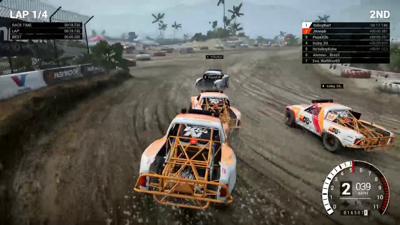 dirt 4 online land rush at baja ps4 pro youtube. Black Bedroom Furniture Sets. Home Design Ideas