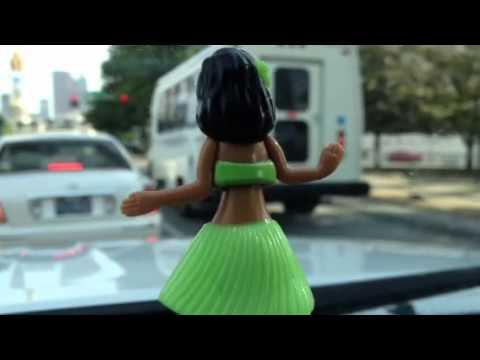 My Dashboard Hula Girl