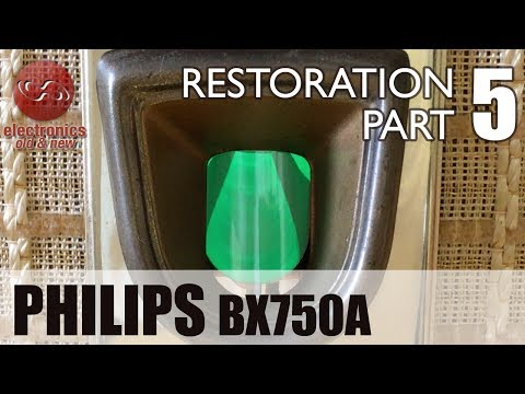 Philips BX750A tube radio restoration - Part 5. Job done. Final alignment and checks.
