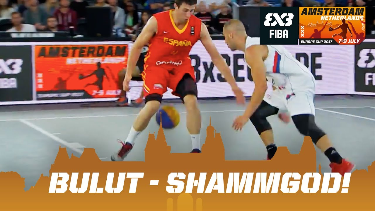 fe324e73ed9 Unbelievable game-winner! Shammgod nutmeg by Bulut! - FIBA 3x3 ...