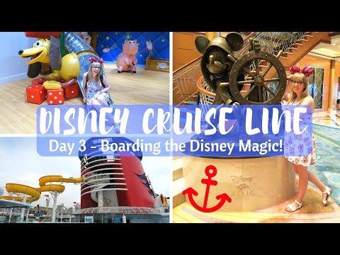 DISNEY CRUISE LINE VLOGS | Boarding the Disney Magic! | Day 3
